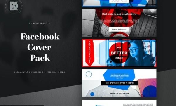Facebook Cover Pack DJK6UGK