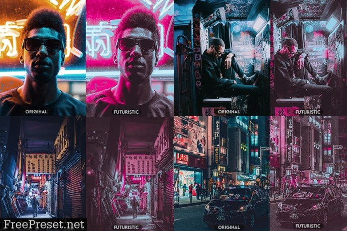 Futuristic Photoshop Actions AM5UBP8