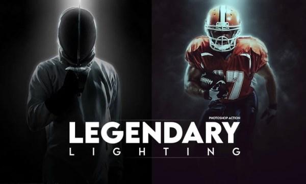 Legendary Light Photoshop Action E7EJSPL