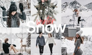 Lightroom Preset-Snow Winter 4976169
