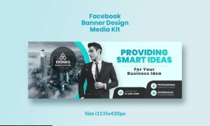 Promotional Facebook Business Banner Design SRHXU9G