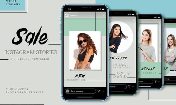 Sale Instagram Stories AECGB9Y