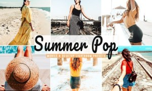 Summer Pop Mobile & Desktop Lightroom Presets