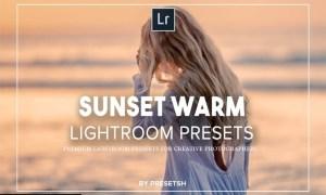 Sunset Warm Lightroom Presets