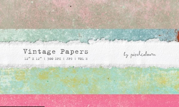 Vintage Papers or Backgrounds E  VLW2ZH9