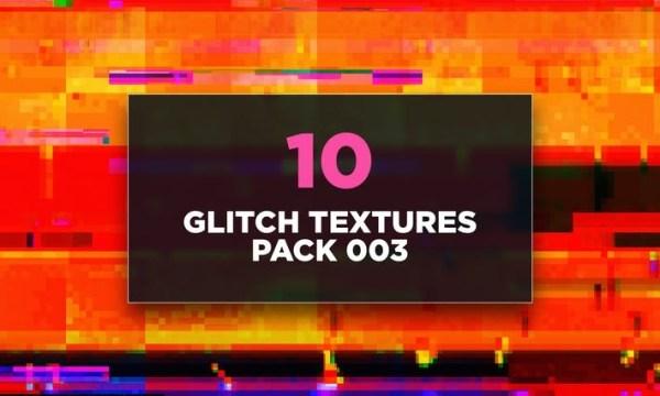 Glitch Textures Pack 003  L2936ZL