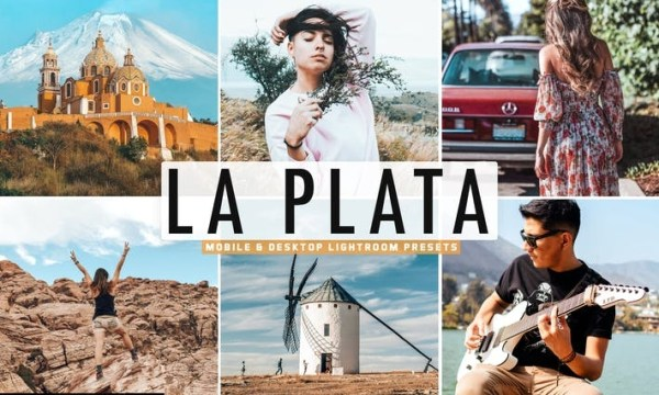 La Plata Mobile & Desktop Lightroom Presets