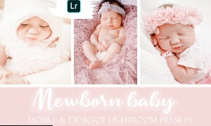 Newborn Baby Mobile & Desktop Lightroom Presets