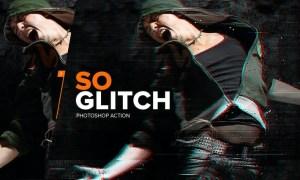 SoGlitch Photoshop Action KPWLCD