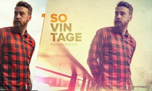 SoVintage Photoshop Action TATUDD