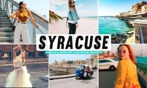 Syracuse Mobile & Desktop Lightroom Presets