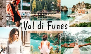 Val di Funes Mobile & Desktop Lightroom Presets