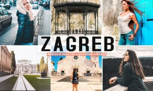 Zagreb Mobile & Desktop Lightroom Presets