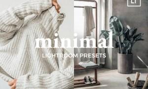 4 Lightroom Presets MINIMAL 4887542
