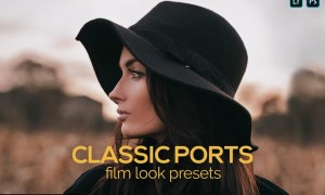 8 Portrait Film Look Presets 5184354