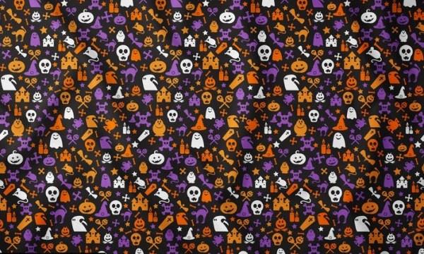 Bright Halloween Seamless Pattern 4LZ9G5F