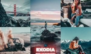 EXODIA Photoshop Action
