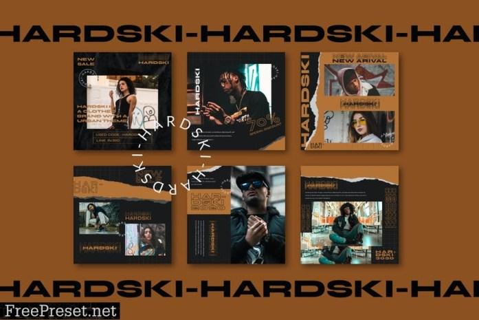 Hardski - Instagram Post and Stories TUHKPZX