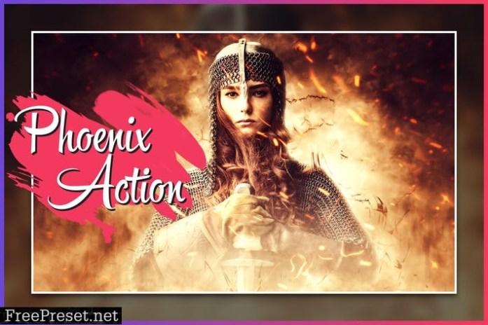 Phoenix CS4+ Photoshop Action HCY3PQD
