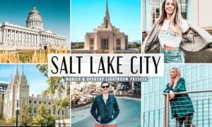Salt Lake City Mobile & Desktop Lightroom Presets