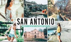 San Antonio Mobile & Desktop Lightroom Presets