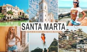 Santa Marta Mobile & Desktop Lightroom Presets