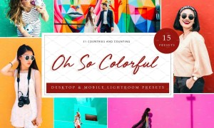 15x Lightroom Presets Oh!So Colorful 5226208