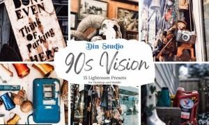 90s Vision Lightroom Presets