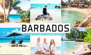 Barbados Mobile & Desktop Lightroom Presets
