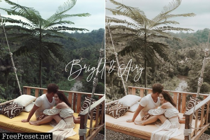 Bright & Airy Wedding Preset Pack 5492201