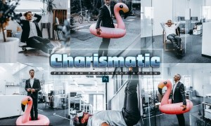 Charismatic Photoshop Action 96MBS45