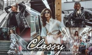 Classy Lightroom Mobile & PC Presets