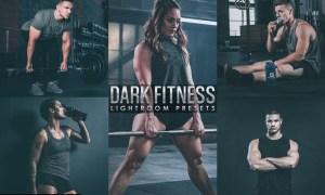 Dark film Fitness lightroom Presetes