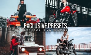 Exclusive Presets lightroom (Mobile & Desktop)