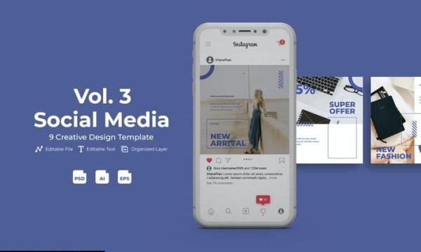 Fashone - Social Media Kit Vol. 3 U5GD388