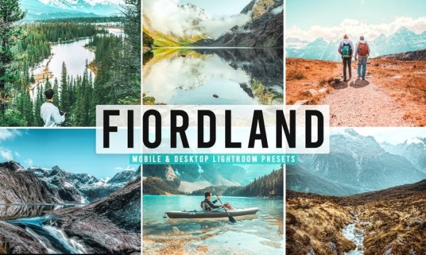 Fiordland Mobile & Desktop Lightroom Presets