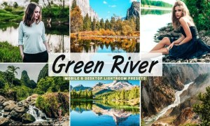Green River Mobile & Desktop Lightroom Presets