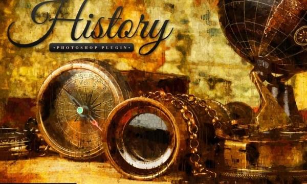 History - Realistic Painting Art Photoshop Plugin F556R7S