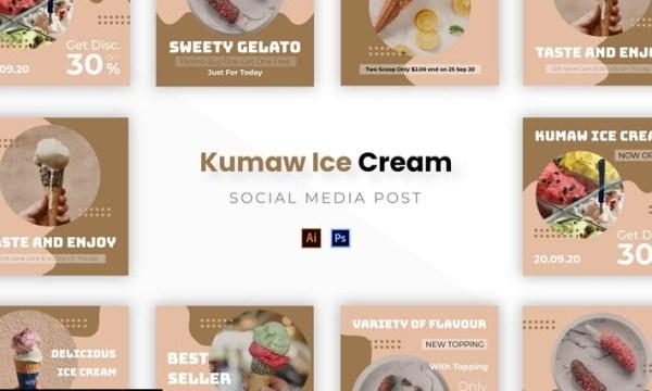 Kumaw Ice Cream Socmed Post YHAELVA