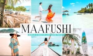Maafushi Mobile & Desktop Lightroom Presets