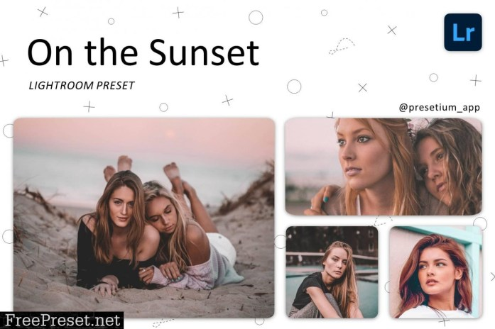 On the Sunset - Lightroom Presets 5227524