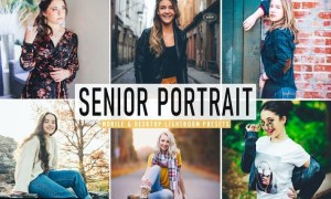 Senior Portrait Mobile & Desktop Lightroom Presets
