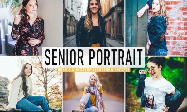 Senior Portrait Mobile & Desktop Lightroom Presets