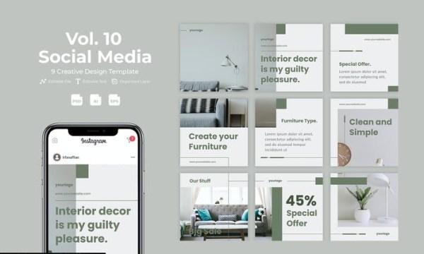 Simplfy - Social Media Template Vol. 10 B56DXXE