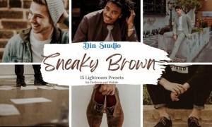 Sneaky Brown Lightroom Presets