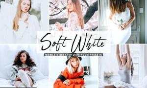 Soft White Mobile & Desktop Lightroom Presets