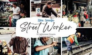 Street Worker Lightroom Presets