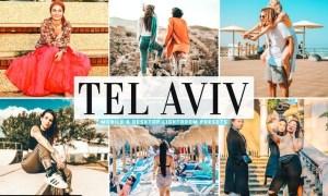 Tel Aviv Mobile & Desktop Lightroom Presets