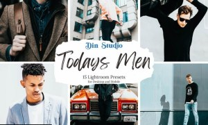 Todays Men Lightroom Presets