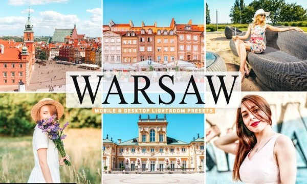 Warsaw Mobile & Desktop Lightroom Presets